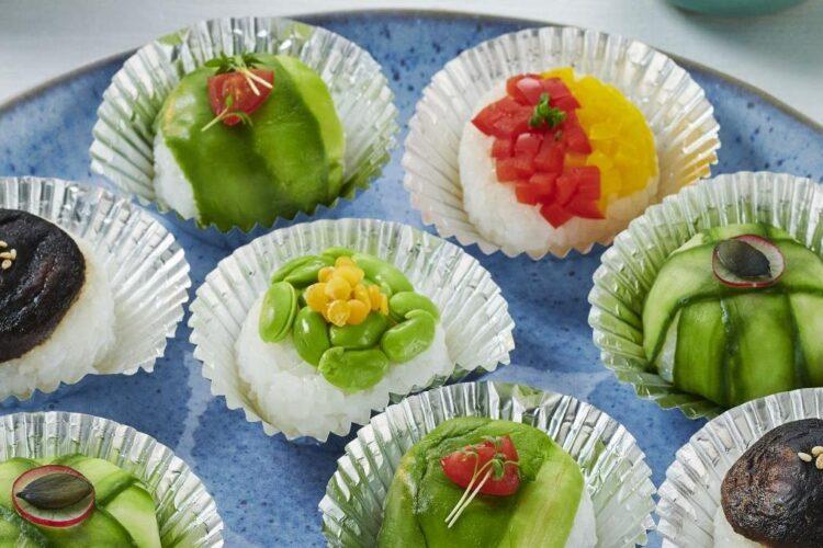 суши десерт Kikkoman