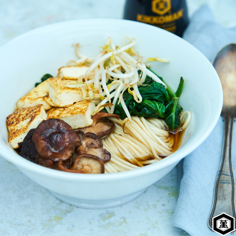 тофу супа нудли